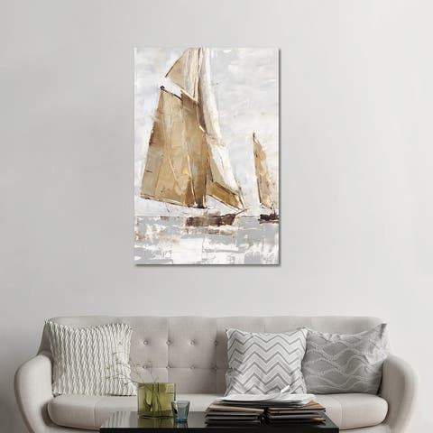 "iCanvas ""Golden Sails I"" by Ethan Harper Canvas Print"