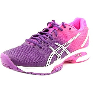 Asics Gel-Solution Speed 2 Women Round Toe Synthetic Pink Running Shoe