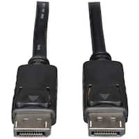 Tripp Lite(R) P580-006 DisplayPort to DisplayPort Cable with Latches, 6ft