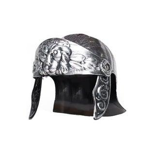 Underwraps Gladiator Lion Helmet Silver