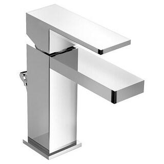 Symmons SLS-3612 Duro Deck Mount Bathroom Faucet - Includes Metal Pop-Up Drain Assembly
