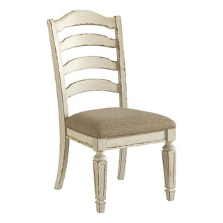 Ashley Furniture Realyn Dining UPH Dining Room Chair (4 Pack)