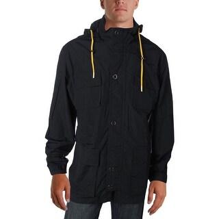 Lauren Ralph Lauren Mens Anorak Jacket Hooded Water Resistant