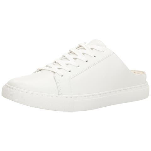 Kenneth Cole New York Womens Kinsley Leather Low Top Slip On Fashion Sneakers