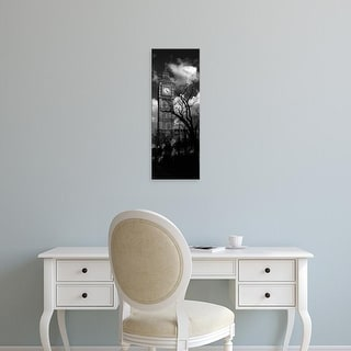 Easy Art Prints Panoramic Images's 'Low Angle View Of Big Ben, London, England, United Kingdom' Premium Canvas Art