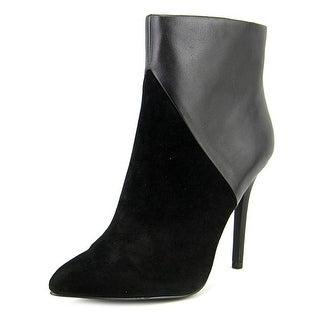 Charles By Charles David Pine Women Pointed Toe Suede Black Heels