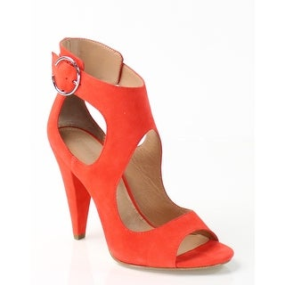 Sigerson Morrison NEW Red Womens Shoes Size 9M Major Suede Sandal