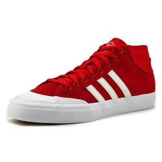 Adidas Matchcourt Mid Men   Synthetic Red Fashion Sneakers