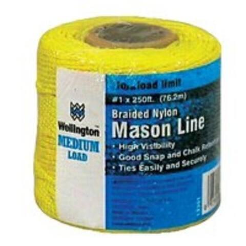 Wellington 13351 Braid Chalk Line Gold, 250'