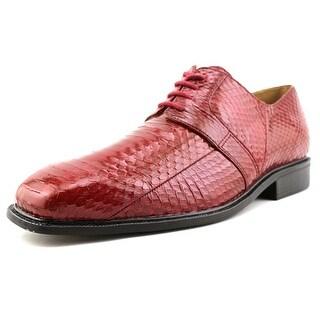 Giorgio Brutini Slaton Men  Square Toe Leather Red Oxford