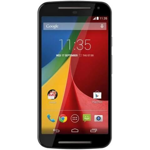 Motorola G 2nd Gen XT1063 8GB Unlocked GSM Micro-SIM Phone w/ 8MP Camera - Black (Certified Refurbished)