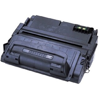 """""""eReplacements Q5942A-ER eReplacements Toner Cartridge - Replacement for HP (Q5942A) - Black - Laser - 10000 Page - 1 Pack"""""""