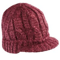 NEW District - Cabled Brimmed Hat