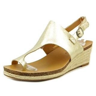 Lucky Brand Janessa Open-Toe Suede Slingback Sandal