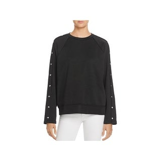 T by Alexander Wang Womens Petites Sweatshirt French Terry Crew Neck - S