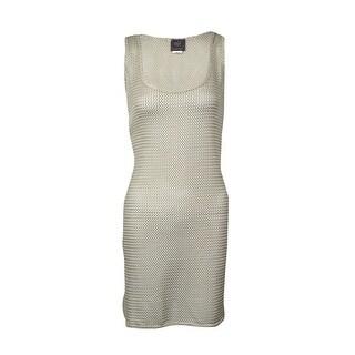 Elif for Jordan Taylor Women's Textured Tank Swimsuit Cover
