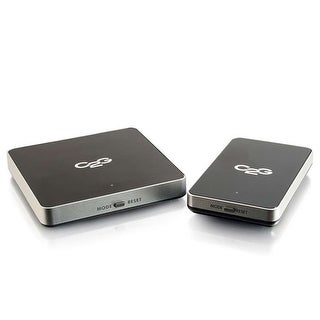 """""""C2G Wireless A-V for HDMI Devices Video Extender Transmitter/Receiver"""""""