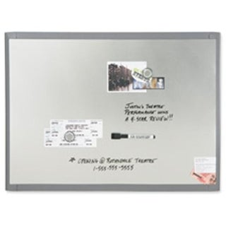 Quartet Magnetic Whiteboards- 8-.50in.x11in.- Stainless Steel