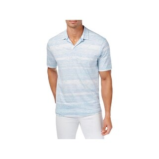 Tommy Bahama Mens Polo Shirt Striped 2 Button Placket - XXL
