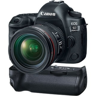 Canon EOS 5D Mark IV DSLR Camera with 24-70mm f/4L Lens (International Model)