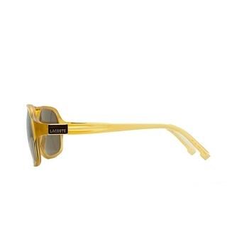 Lacoste L 502S 250 Amber Modified Aviator Sunglasses