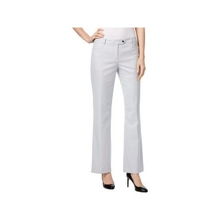 Calvin Klein Womens Petites Ankle Pants Textured Modern Fit