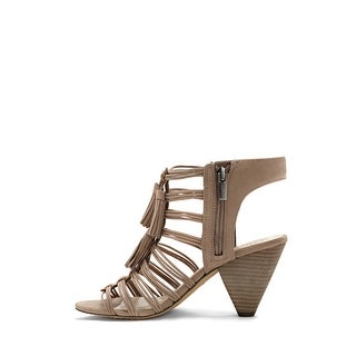 Vince Camuto Womens edola Leather Open Toe Classic Pumps