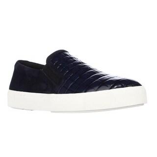 Via Spiga Maliah Slip-On Fashion Sneakers, Navy