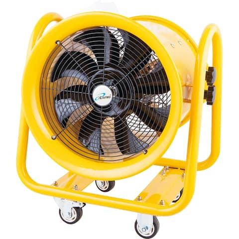 iLIVING 16 inch Utility Blower Exhaust Warehouse Ventilator Fan, 1200W 3450RPM