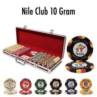 500 Ct - Custom Breakout - Nile Club 10 G - Black Aluminum
