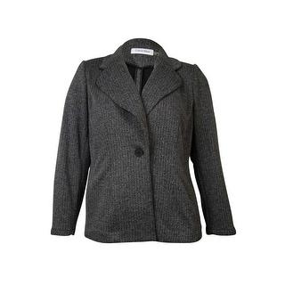 Calvin Klein Women's Knit Sweater Blazer Jacket