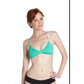 Odina Surf Boho Surf Bikini Top in Mint