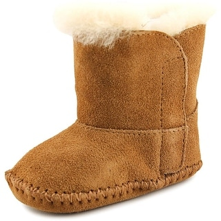 Ugg Australia Baby Caden Infant Round Toe Suede Brown Snow Boot