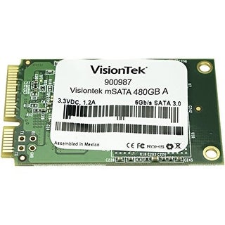 """Visiontek 480 GB Internal Solid State Drive Cartridge 480 GB Internal Solid State Drive Cartridge"""