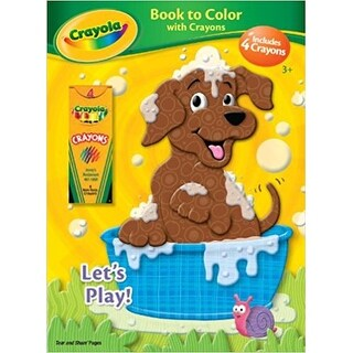 Crayola Let's Play Book to Color with Crayons