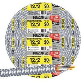 Southwire 25' 12/2 Stl Armr Cable