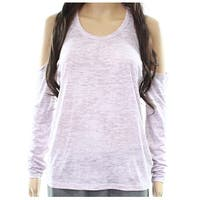 Alternative Women's Small Cold-Shoulder Knit Top