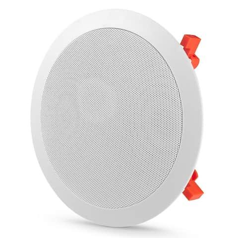 """JBL C-81C 8"""" In-Ceiling Speaker - White"""