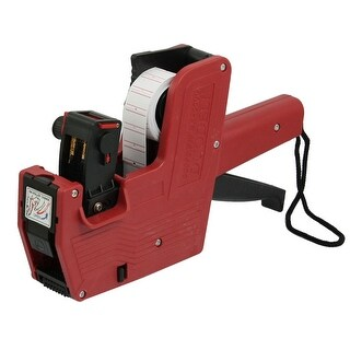 Red Plastic Shell Hand Shopping Price Labeller Labeler Tag Gun