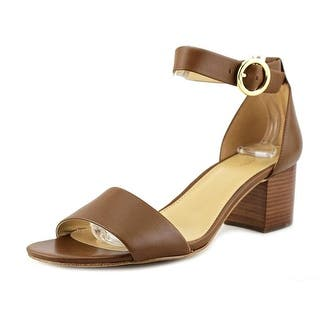 2222bba167eb Michael Michael Kors Womens Plate Leather Open Toe Casual Slingback Sandals  · Quick View