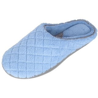 Link to Dearfoams Women's Quilted Microfiber Terry Clog Slipper Similar Items in Slippers, Socks & Hosiery