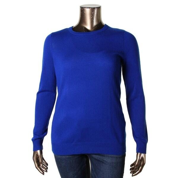 Private Label Womens Pullover Sweater Cashmere Crewneck