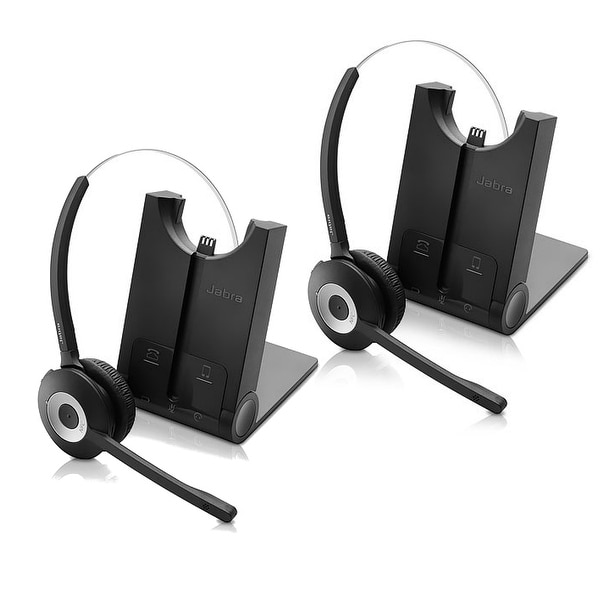 733e22e689f Jabra PRO 925 Single Connectivity Mono Wireless Headset (2 Pack) w/ Up To