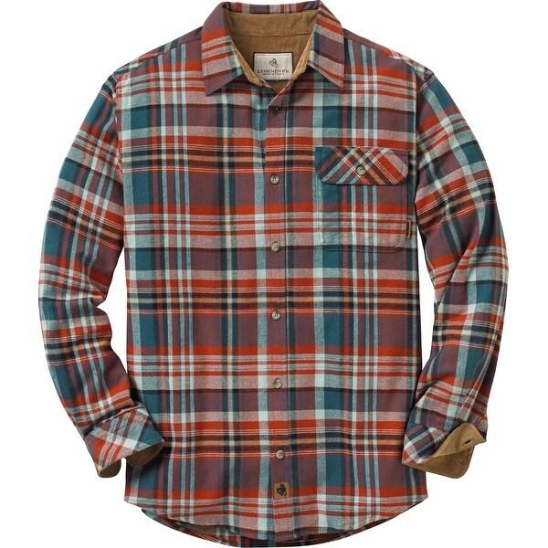 Legendary Whitetails Men's Plaid Buck Camp Flannels