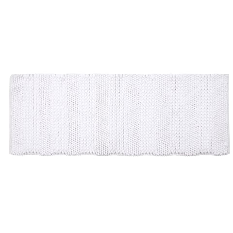 Supersoft and Absorbent Braided and Loop Chenille Oversized Bath Rugs (22 in x 60 in)