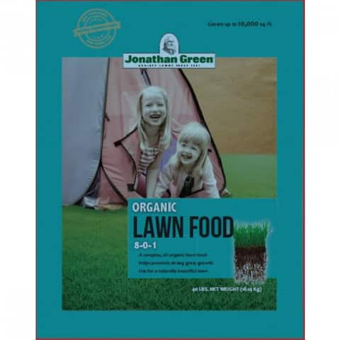 Jonathan Green 10311 Organic Lawn Food, 8-0-1, 10000 Sq. Ft Coverage