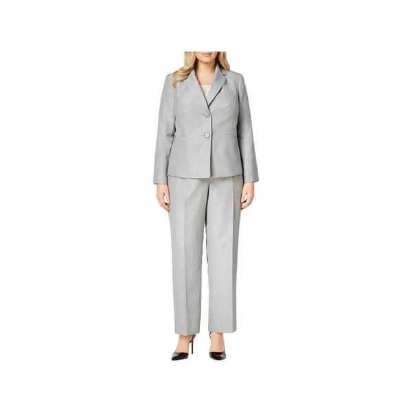 Shop Le Suit Womens Plus Pant Suit Professional Business Attire