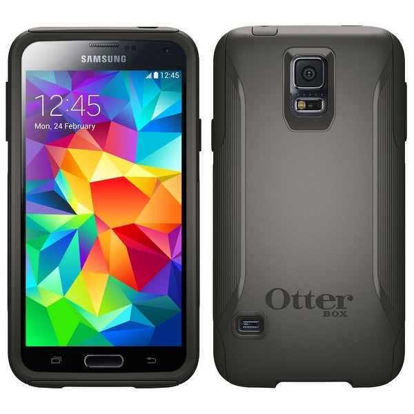 half off 1d943 e705a Otterbox [Commuter Series] Samsung Galaxy S5 Case - Retail Packaging  Protective Case for Galaxy S5 - Black