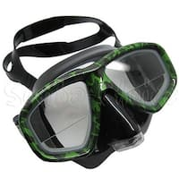 Camouflage Dive Purged Mask FARSIGHTED Prescription RX 1/3 Optical Lenses
