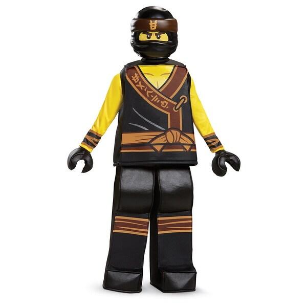 Ninjago Halloween Costume.Shop Boys Ninjago Cole Movie Prestige Halloween Costume Free